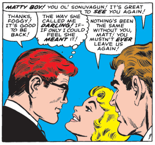 The law firm is reunited, Daredevil #14