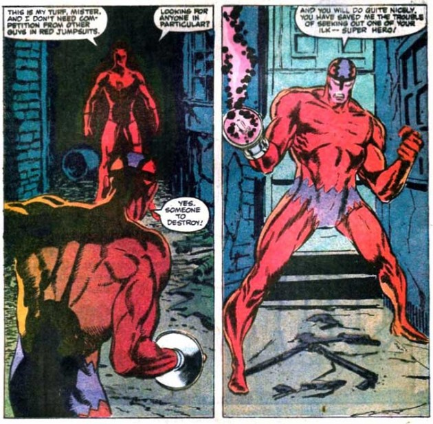 Daredevil meets Klaw, Daredevil #237
