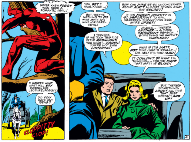 Karen does too much thinking, from Daredevil #28