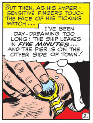 Matt checking the time, from Daredevil #12