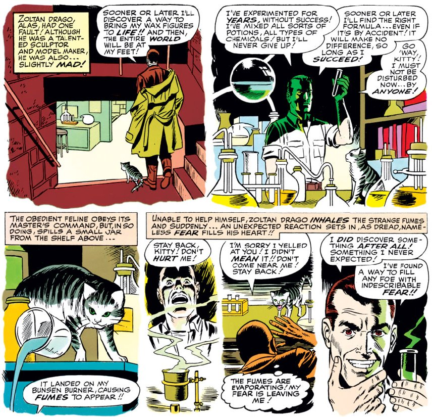 image from Daredevil #6, by Stan Lee and Wally Wood