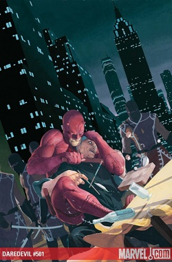 Cover to Daredevil #501