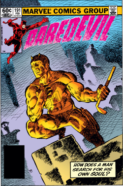Daredevil 191 cover