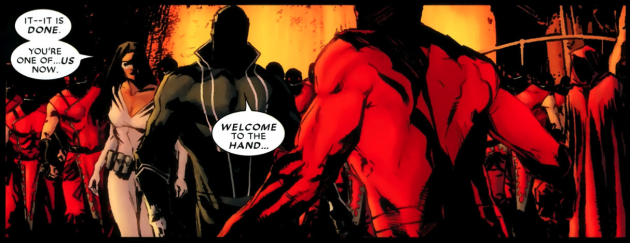 Panel from Daredevil #501, by Andy Diggle and Roberto de la Torre