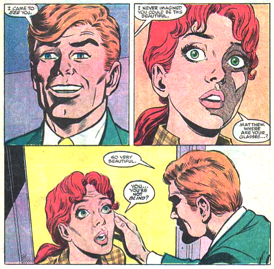 Matt Murdock sees Glorianna