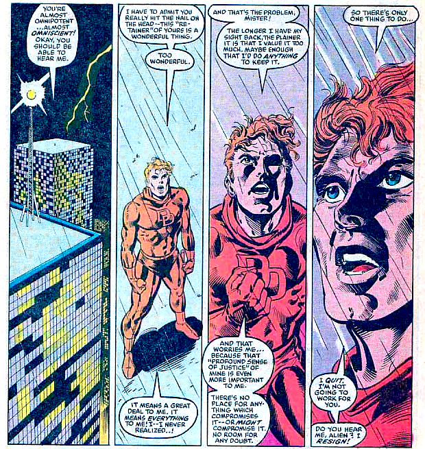 Matt confronts the Beyonder