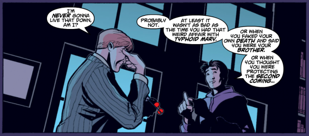 From Spider-Man/Black Cat: The Evil that Men Do #4, by Kevin Smith and Terry and Rachel Dodson