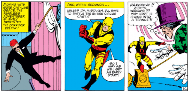 Matt switches to Daredevil and joins the action