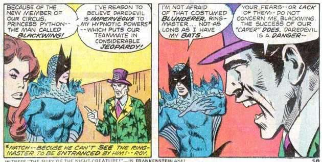 The Ringmaster explains to his crew why Daredevil has to be stopped