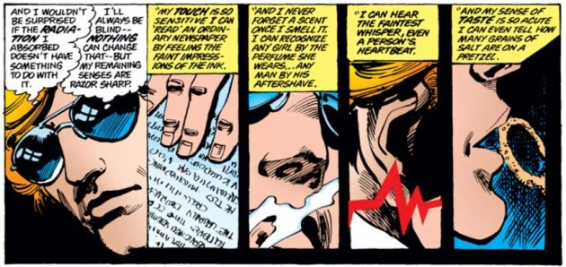 Panels from Daredevil #164, by Roger McKenzie and Frank Miller