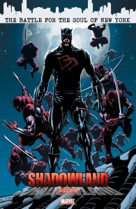Shadowland teaser #7, Daredevil in his black costume