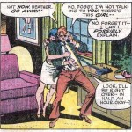 Matt and Heather, from Daredevil #127 by Marv Wolfman, Bob Brown and Klaus Janson