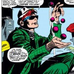 Mike Murdock charms Karen Page, Daredevil #28, by Stan Lee and Gene Colan