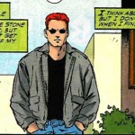 Matt sports a casual look in Daredevil #361, by Karl Kesel and Cary Nord