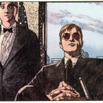 Matt and Foggy, from Daredevil #37, vol 2, by Brian Bendis and Alex Maleev