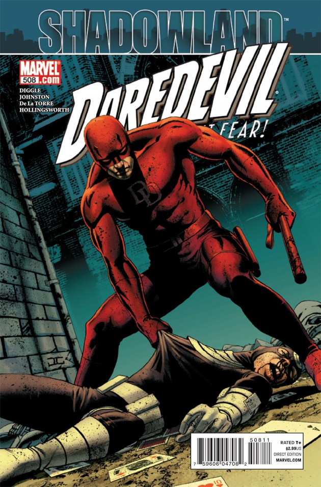 Cover to Daredevil #508