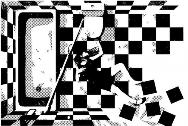 Panel from Game Room, by Ann Nocenti and David Aja