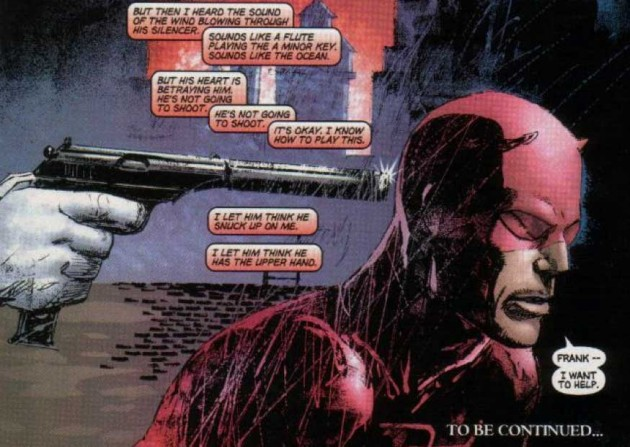From Ultimate Marvel Team-Up #7 by Brian Bendis and Bill Sienkiewicz