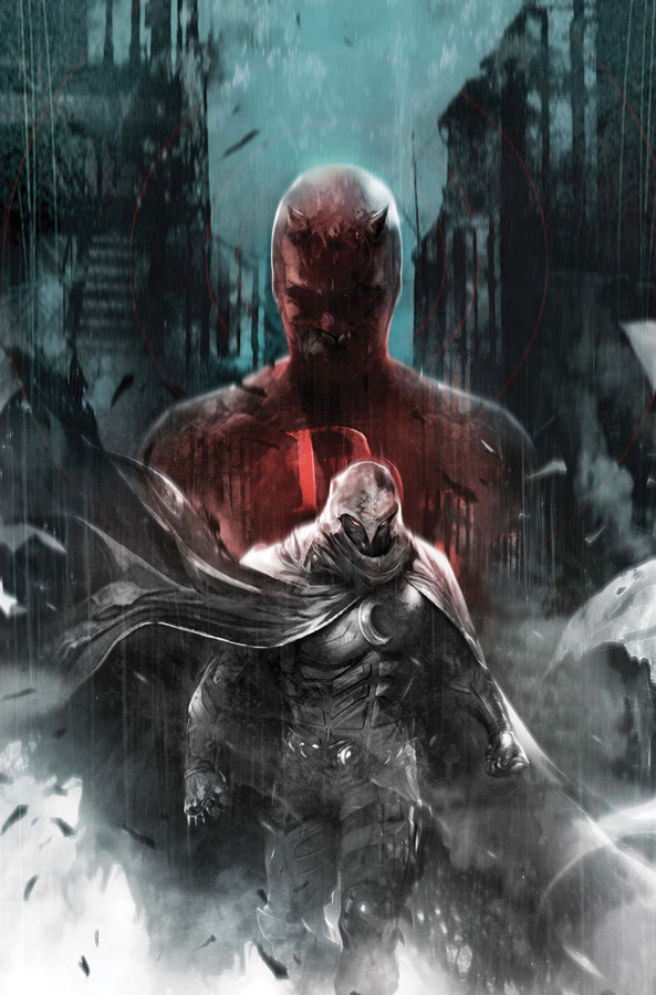 Cover to Shadowland: Moon Knight #1