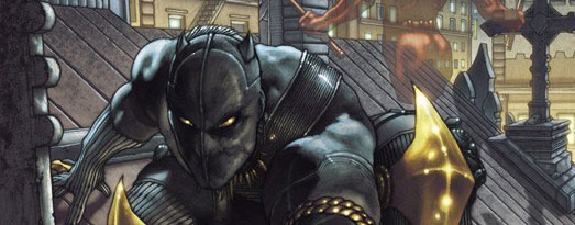 Cover to Black Panther: Man Without Fear #513