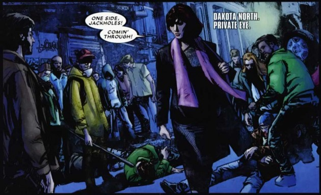 Panel from Daredevil #511, by Andy Diggle and Roberto de la Torre