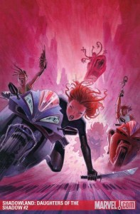 Cover to Shadowland Daughters of the Shadow #2