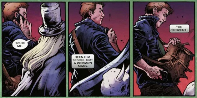Panel from Shadowland: Moon Knight #3