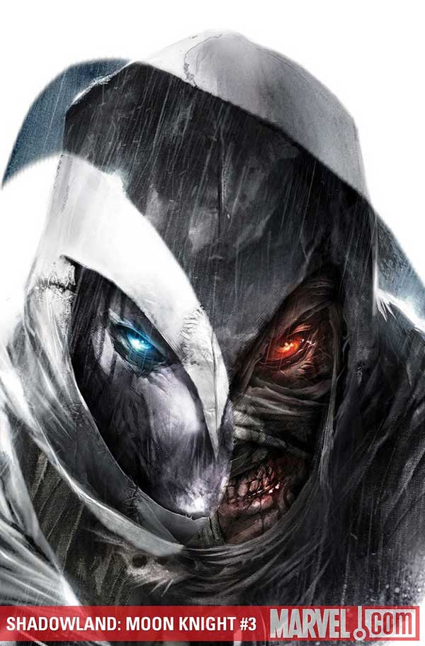 Cover to Shadowland: Moon Knight #3