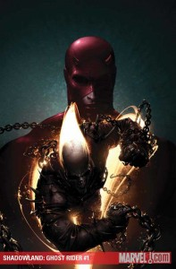 Cover to Shadowland Ghost Rider #1