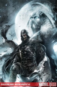 Cover to Shadowland Moon Knight #2