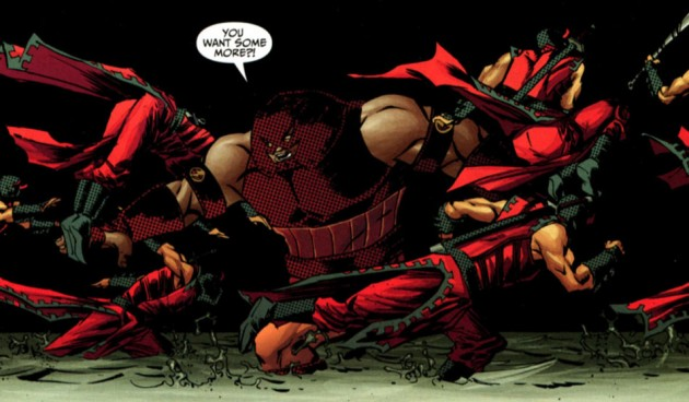 Panel from Thunderbolts #149