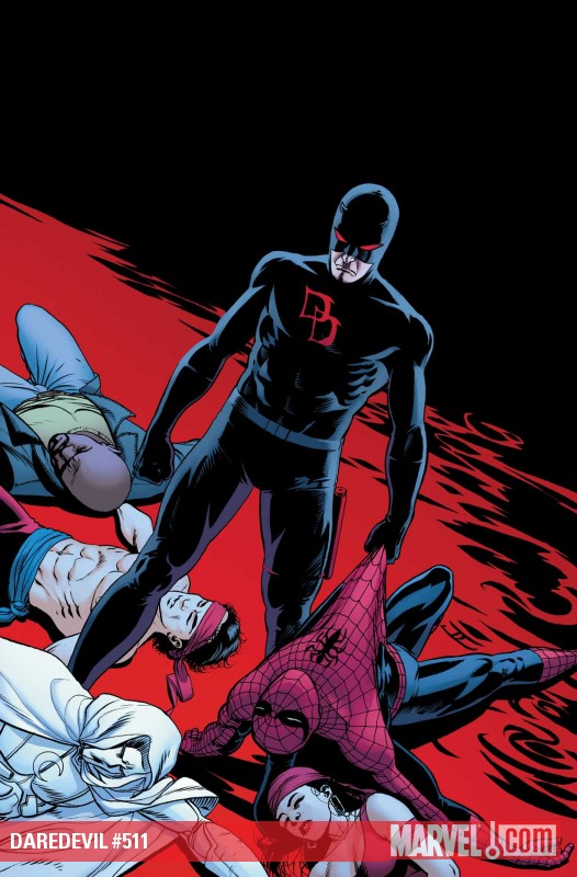 Cover to Daredevil #511
