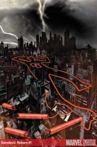 Cover to Daredevil: Reborn #1