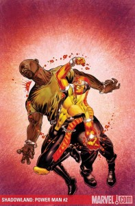 Cover to Shadowland Power Man #2