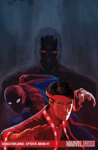 Cover to Shadowland: Spider-Man #1