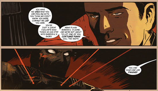 Panel from Black Panther: Man Without Fear #513