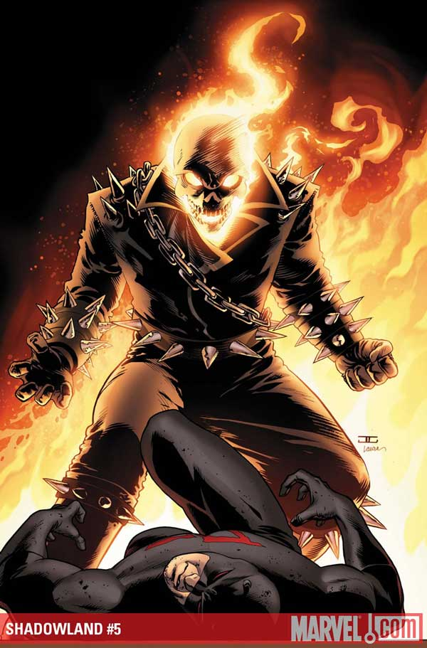 Cover to Shadowland #5
