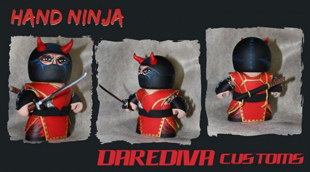 Hand ninja custom might mugg