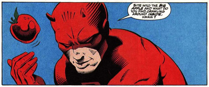 Panel from Daredevil #304, by D.G. Chichester and Ron Garney