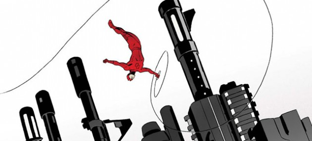 Cover to Daredevil #4, art by Marcos Martín