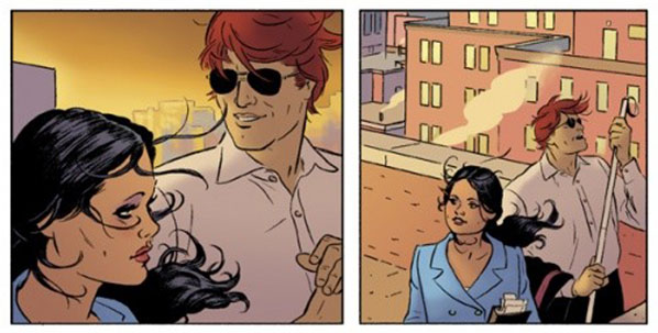 Is the woman talking to Matt in this preview panel Michele Gonzales?