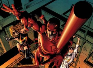 Preview art of Daredevil in New Avengers