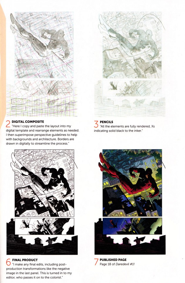 Paolo Rivera talks about his process, page 2