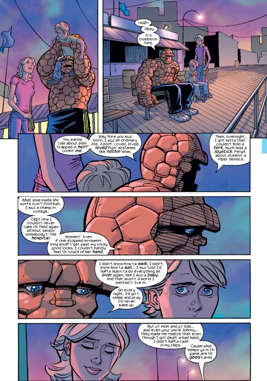 Page from Fantastic Four #502 by Mark Waid & Casey Jones