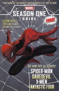 Cover to the Season One Guide, free at comic book stores