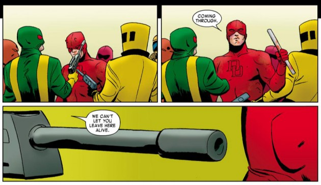 Daredevil plays it cool, from Daredevil #6
