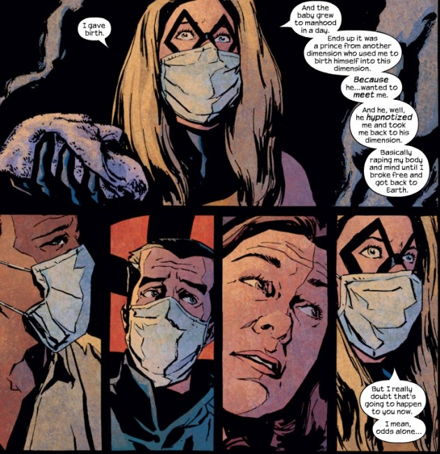 The Pulse #13; Ms Marvel recounts her pregnancy.