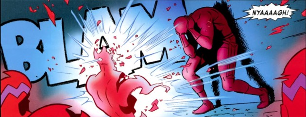 Daredevil vs Klaw, from Daredevil #3