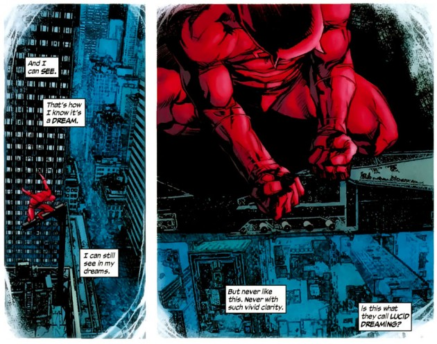 Matt has a vivid dream in Daredevil #502, by Andy Diggle and Roberto de la Torre