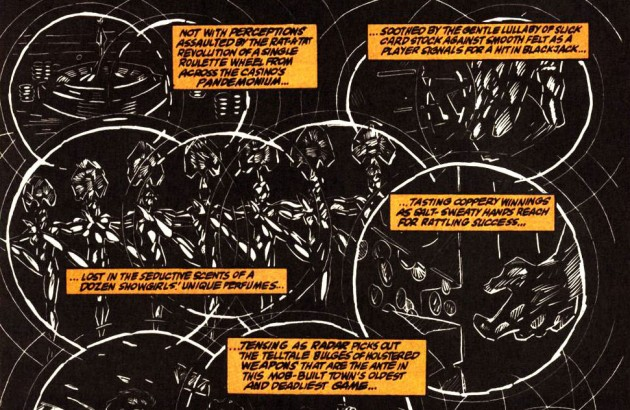 Radar image from Daredevil #307, by D. G. Chichester and Scott McDaniel